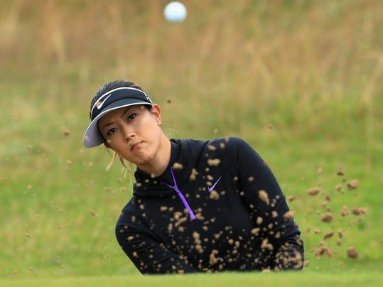 Michelle Wie at British Open