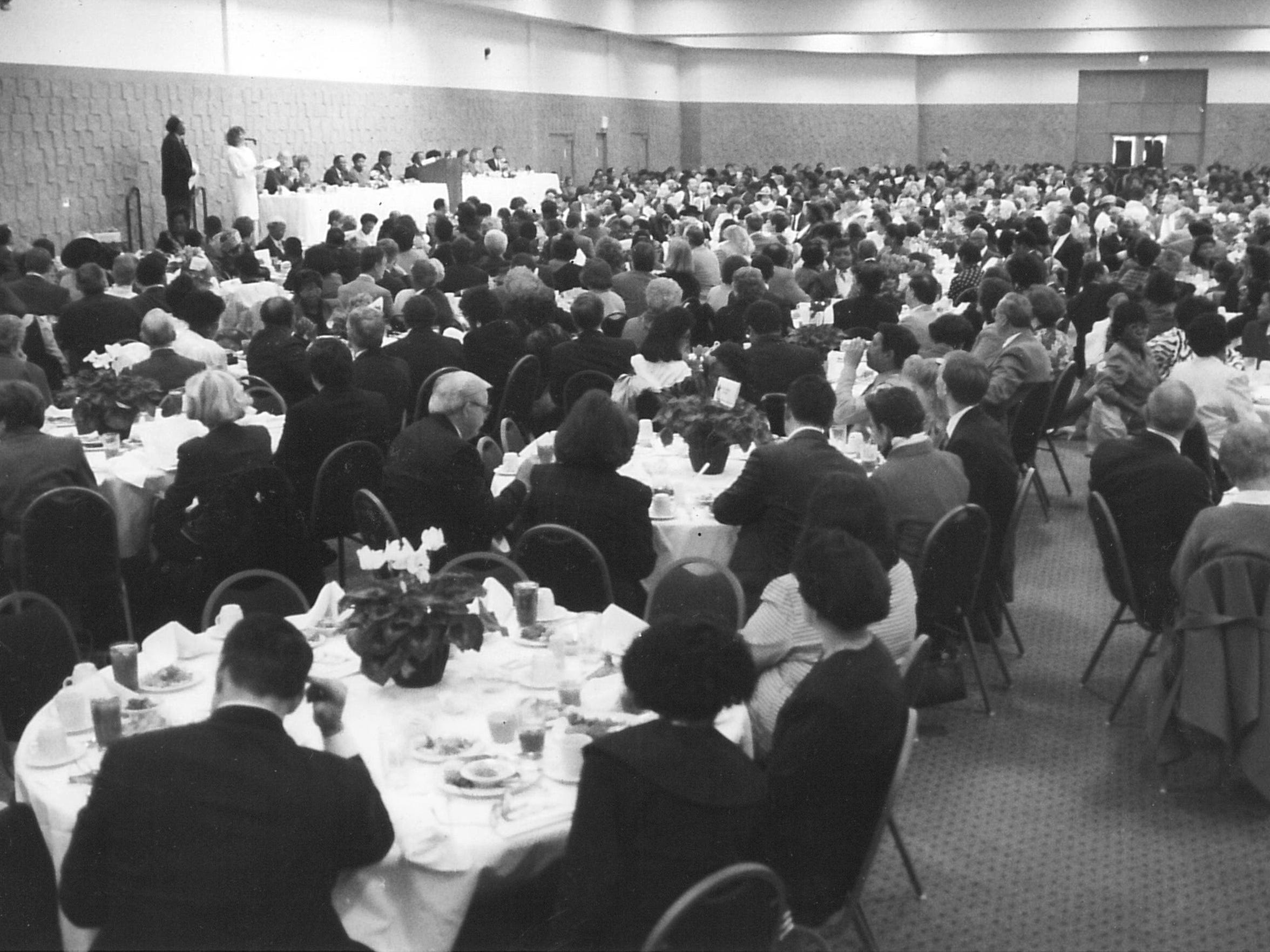 The conference center of the Abilene Civic Center was