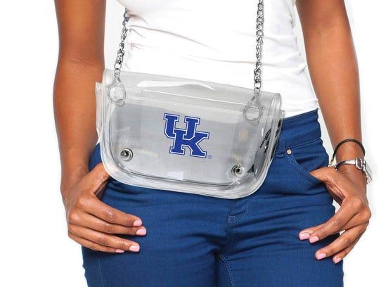 University of Kentucky Clear Waist Pack/Crossbody ($24.99)