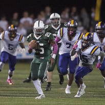 A junior, Nazir Streater has rushed for over 1,000 yards this season for Camden Catholic.