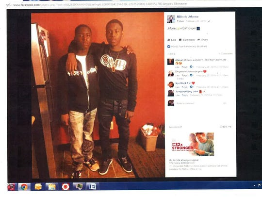 Jeremy Tunnell (right), from the 800 block of West 5th Street, was shot in the lower abdomen in May. He died due to his injury.