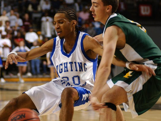 Robert E. Lee's Daryl Taylor struggles with Greensville