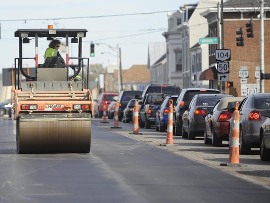 A series of roadway projects have been approved and may soon be in progress through ODOT, OPWC grants or the city including paving, new turn lanes, widening projects, sidewalk installation and stormwater infrastructure.