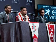 Tagovailoa out of boot to treat surgically repaired ankle