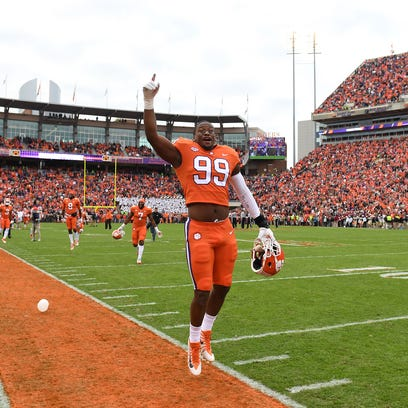Clemson football team leads nation with six Associated Press All-Americans