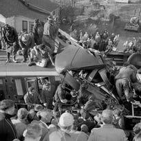 2 die in train wreck in Greer in 1955