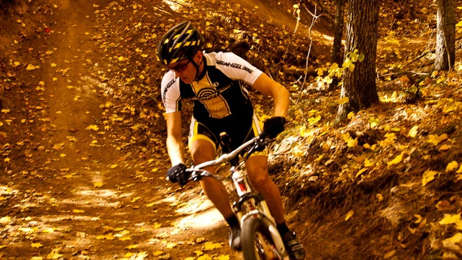 The CAMBA Trails in Cable, Wis., lace through the Chequamegon-Nicolet National Forest region of Northwest Wisconsin, offering six clusters of mountain bike trails that total 300 miles.