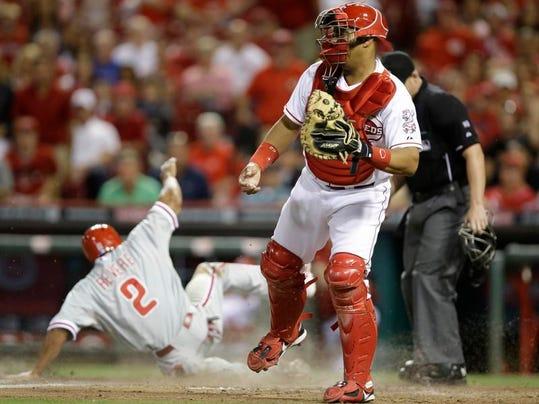 Phillies Reds Baseball
