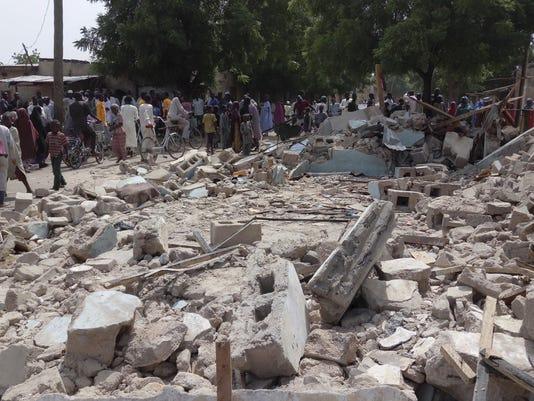 APTOPIX Nigeria Boko Haram