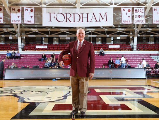 Frank McLaughlin, the former athletic director at Fordham