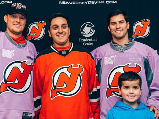 info for 0e4d5 81055 Hockey: New Jersey Devils join fight against cancer
