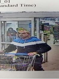Staunton Police Department are search for this man who allegedly stole merchandise from the Staunton Wal-Mart on Jan. 16.