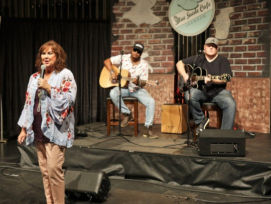 Skyleor Anderson was among performers Sunday at the 35th annual Circles of Hope Telethon to benefit the Exchange Club-Carl Perkins Center for the Prevention of Child Abuse, held at the Carl Perkins Civic Center in downtown Jackson.