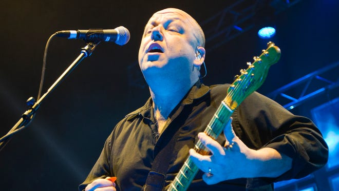 Black Francis performs with the Pixies at Comerica Theatre in Phoenix on Feb. 24, 2014.