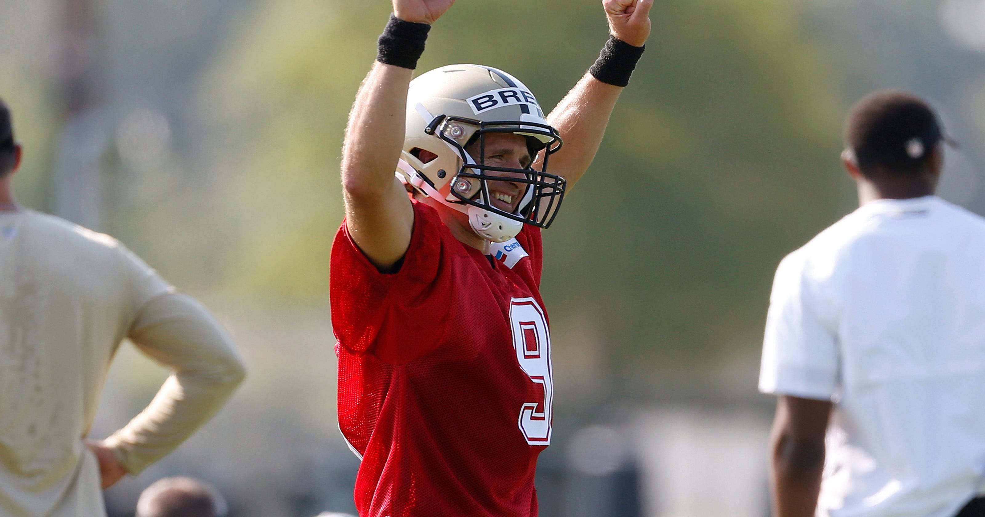 fb3044a3f Saints soar into  18 training camp with hopes high for Super Bowl LIII