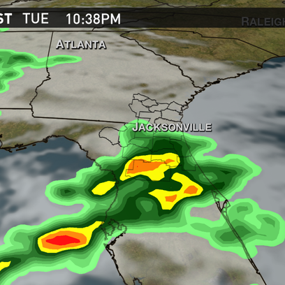Showers and storms Tuesday