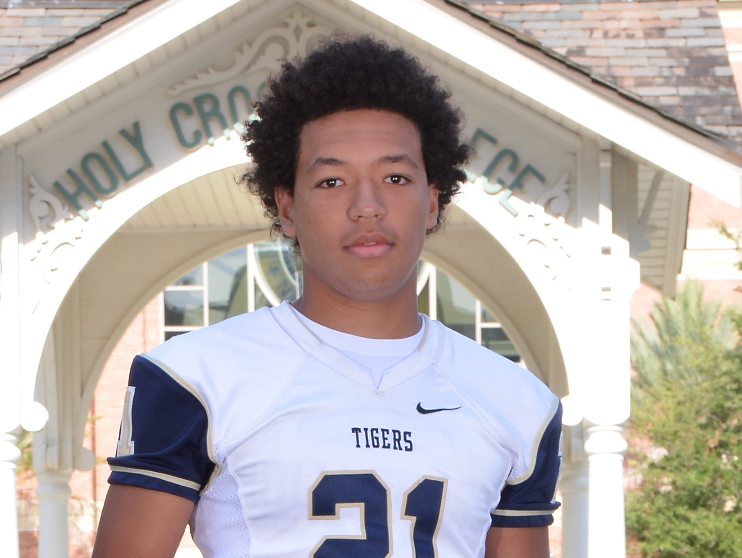 Kenny Hebert of Holy Cross High in New Orleans is a 2016 Vanderbilt football commitment.