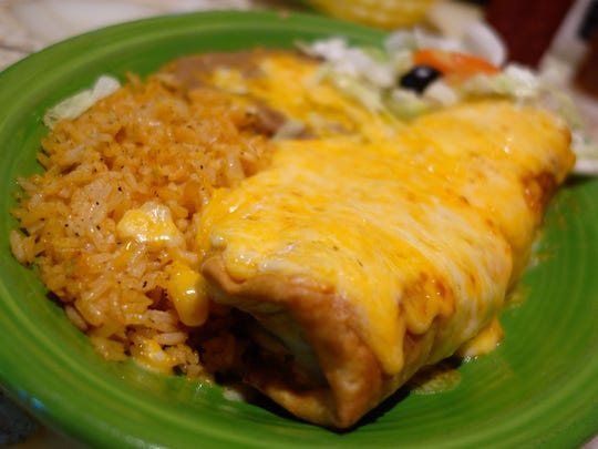 Trailing the Pack: Beef Chimichanga at Los Olivos Mexican