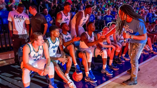 Former FGCU ASUN Player of the Year Sherwood Brown,