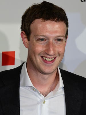 File photo taken in 2016 shows Facebook founder and CEO Mark Zuckerberg.