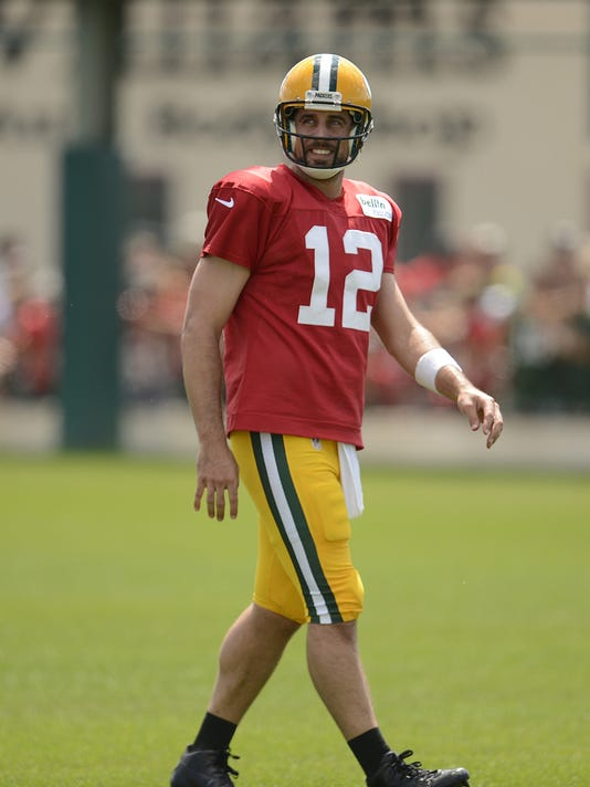 GPG Packers training camp 081115