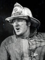 Fayetteville Volunteer Fire Company Chief James W.