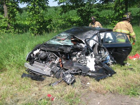 Prius accident
