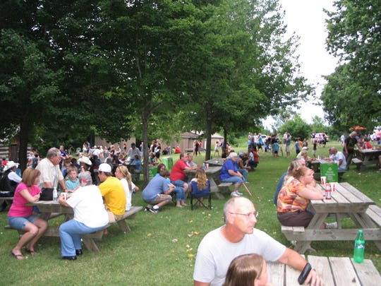 There's more than ice cream on the menu. You can get pie, cobbler, drinks, pulled pork and brats at the Fair Grove Ice Cream Social on Saturday.