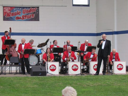 The Ron Harvey Orchestra tribute band is directed by
