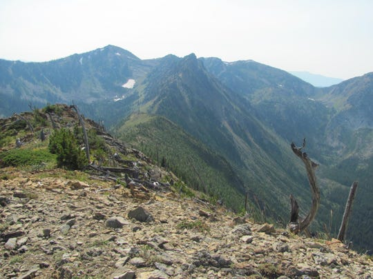 The hike up Ousel Peak, access from U.S. Highwy 2, is just less than 5 miles roundtrip, but gains 3,200 feet of elevation.