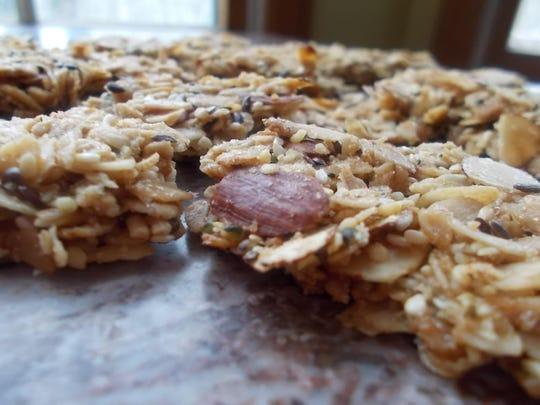 Chunky maple cinnamon granola is an easy choice for