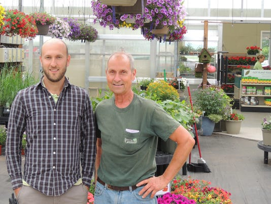 LEBANON DAILY NEWS   Lee dussinger  Jerel Frey and Les Frey are co-owners of Frey s Greenhouse that took first place in both the Garden/Farm category and Greenhouse/Nursery category of the 2015 Best Of the Lebanon Valley contest.