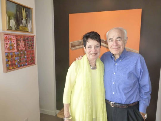 Detroiters Elaine and Eugene Driker.