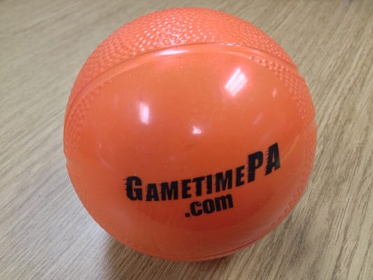 Visit the GameTImePA.com crew at the Jan. 17 York Suburban at Hanover boys' basketball game. If you're lucky, you might walk away with one of these GameTimePA mini basketballs.