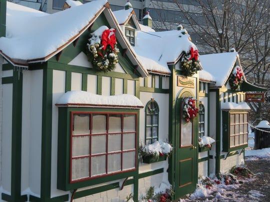 Victorian Holiday Village.