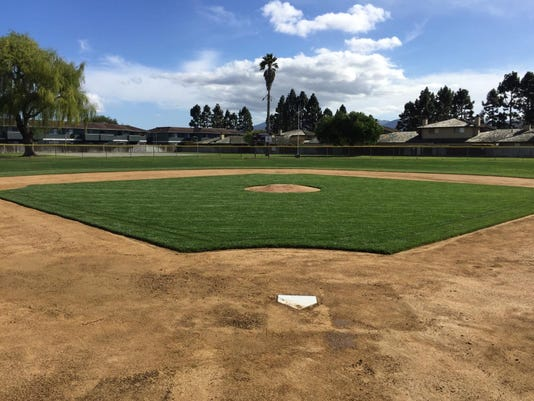 Doglione Field Hartnell Little League After the Renovation