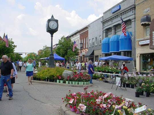 The Northville Flower Sale is May 27-28.
