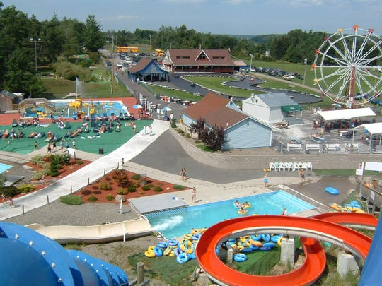 Thunder Island in Fulton includes not just a waterpark but also a 17-hole jungle mini-golf course and other family entertainment.