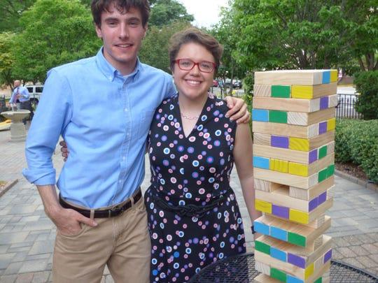 Troy residents Eric Vanderhoef and Lauren Lawler.