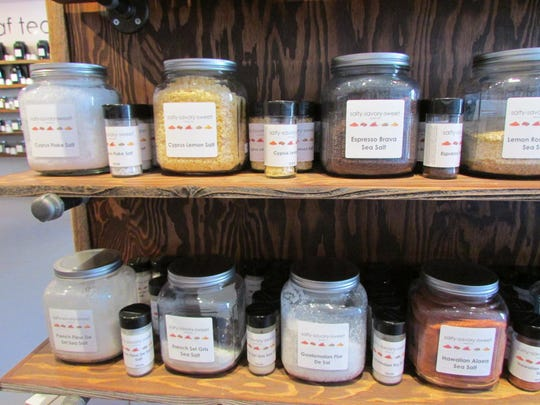 Salty-Savory-Sweet Spices and Teas on California Avenue carries espresso, lemon and Hawaiian salts, among many others.