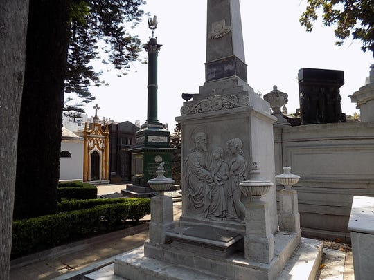 Recoleta Cemetery is the only cemetery in the world