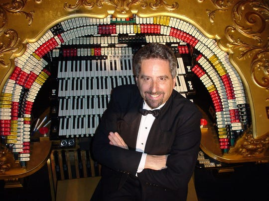 Theater organist Dennis James will perform Sunday at the Forum in Binghamton.