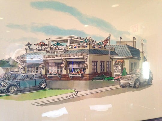 An ongoing renovation of Edgar's Pub in Manasquan includes a new 40-seat rooftop dining area.