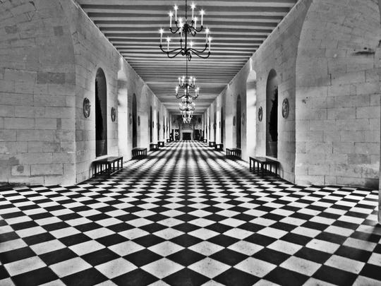 """Chateau de Chenonceau,"" by photographer Deana Strantz, part of the Broadway Art Show."