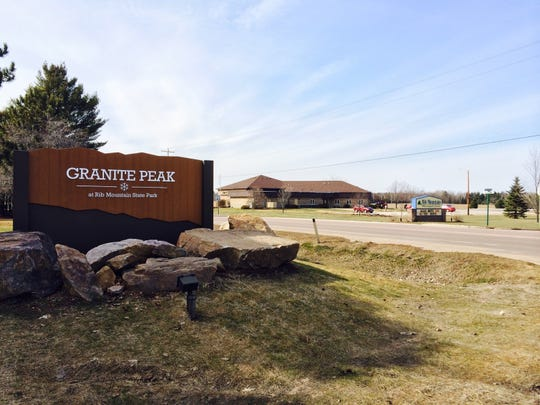 Rib Mountain town leaders met with state officials about a proposed expansion at Granite Peak on March 18, 2015. The Town Board meets across the street from the Granite Peak entrance.