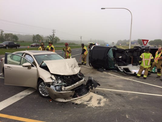 MILTON DEL 1 CRASH -- DSP  photo