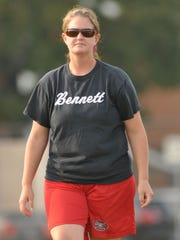 Bennett field hockey coach Kim Fitzgerald.