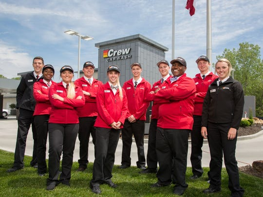 Crew Carwash is one of the Central Indiana companies