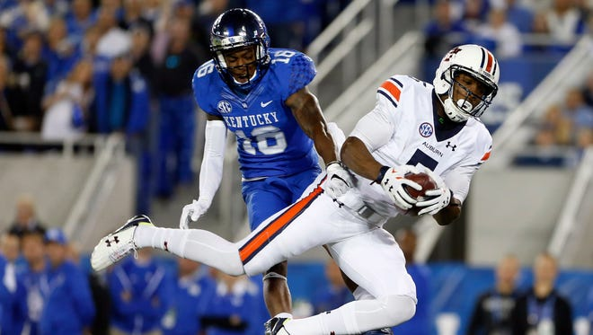 Auburn wide receiver Ricardo Louis wants to have a strong showing against Ole Miss.