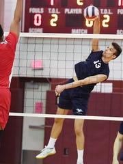 Stefan Rodic of Wayne Valley is a boys volleyball player to watch in 2018.